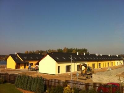 Nové řadové domy ostrava