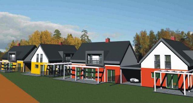 392122a74a1 Developerský projekt výstavby 27 rodinných domů se nachází v severozápadní  části města Přerova. Lokalita navazuje svojí polohou na stávající zástavbu  ...